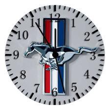 Mustang Frameless ohne Grenzen Wall Clock Schön für Geschenke oder Dekor W191