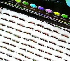 1 x THIN MOOD RING JEWELLERY  ASSORTED PARTY BAGS/STOCKING FILLER FUN RINGS