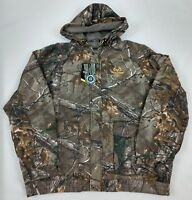 Realtree Camo Hunting Jacket Mens Bomber Camouflage NEW