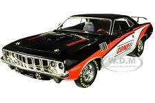 """1971 PLYMOUTH HEMI BARRACUDA """"COMP CAMS"""" 1/24 DIECAST MODEL CAR BY M2 40300-71 B"""