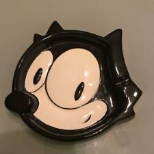 VERY RARE! FELIX THE CAT japan Pottery ashtray