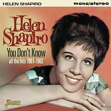 You Don't Know 0604988092820 by Helen Shapiro CD