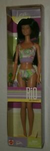 Barbie Mattel 2002 Rio de Janeiro Doll LEA New Hard to find