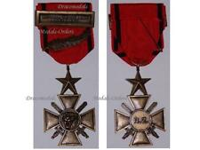 ZAIre Military War Cross Merit Palms Bravery Operation Shaba 1977 Military Medal