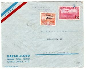 Costa Rica Nice Air Mail Cover to Germany