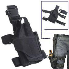Airsoft MOLLE Tactical Field Gear Belt Pistol Right Drop Leg Thigh Gun Holster