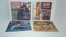 Lot of Three Vintage Star Wars Activity Books and The Ewoks Join the Fight Book