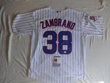 Carlos Zambrano Cubs SIGNED jersey JSA COA