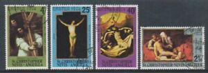 St Kitts-Nevis - 1974, Easter set - F/U - SG 296/9