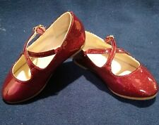Red Children's Place shoes size 7 fancy toddler