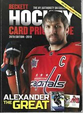 28th Edition Annual Beckett Hockey 2019 Card Price Guide NHL Alexander Ovechkin