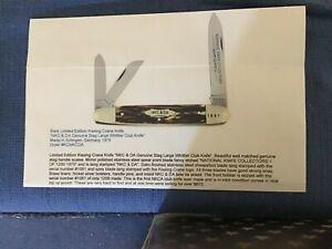 1975 NKCA Kissing Crane 3 blade whittler ser.# 0909 of 1200