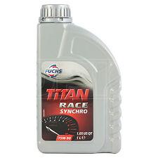 Fuchs Titan Race SYNCHRO 75W-90 GL4 Heavy Duty Fully Synthetic Gear Oil 1 Litre