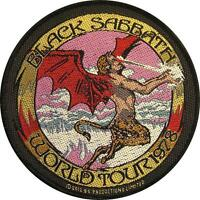 "BLACK SABBATH AUFNÄHER / PATCH # 23 ""WORLD TOUR 1978"" - 9cm"