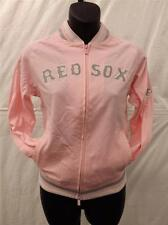 NEW BOSTON RED SOX YOUTH GIRLS LARGE L SIZE 10-12 JACKET by STITCHES 30JE