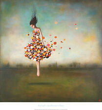 BOUNDLESSNESS IN BLOOM ART PRINT BY DUY HUYNH flower fantasy dancer 26X28 poster