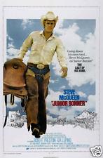 Junior Bonner Steve McQueen cult movie poster print