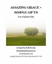 Clarinet Trio - Amazing Grace / Simple Gifts Smart Music file free 4:10 long