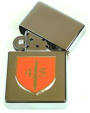 45 COMMANDO ROYAL MARINES  WINDPROOF CHROME PLATED LIGHTER