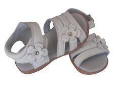 Leather girls Sarie sandals white appx1-5yr shoes baby toddler kids children