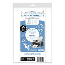 """Featherlite HeatNBond 8.5 x 11"""" (21.5 x 28cm) Sheets Pack 10"""