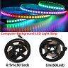 50/100CM Flexible RGB LED Case Strip Light For PC Computer Decor 5V Waterproof