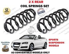 für Audi A3 Cabrio 1.8 2.0 TFSI+TDI 2008-2013 NEU 2x Heck Fahrwerksfedern Satz