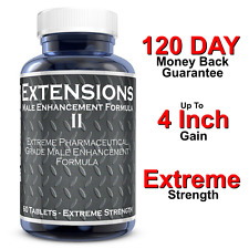 "MALE PENIS ENLARGER THICKER LONGER BIGGER 4"" GROWTH ENLARGEMENT PILLS"