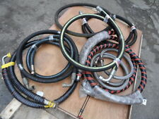 LARGE QUANTITY OF HIGH POWER HYDRAULIC HOSES