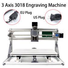 Mini DIY CNC 3018 Mill Router Kit Engraver Wood PCB Milling Machine 3 Assi 220V