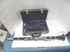vintage normandy resotone clarinet with carrying case noblet mouthpiece