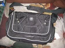 TIMBERLAND MESSENGER Shoulder Laptop BAGS  Black with Grey Trim. Used.