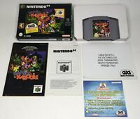 Nintendo 64 N64 Banjo Kazooie PAL Version Complete in Box CIB *Authentic/Tested*