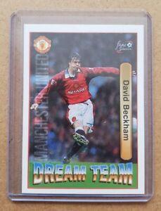 David Beckham Futera 1997 Dream Team Card Manchester United - 71 (Pack Fresh)