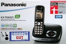 Panasonic KX-TG 6521 GB Schwarz DECT-Telefon mit Anrufbeantworter NEU KX-TG6521