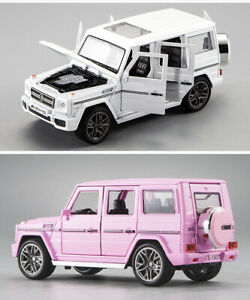 1/24 Mercedes-Benz G65 Off-Road Vehicle Alloy Model with Sound and Light