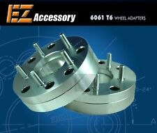 2 Wheel Adapters 4 Lug 100 To 5 Lug 4.5 Spacers 4x100/5x4.5 1.75""