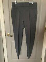 Liz Claiborne Women's Classic Gray Secretly Slender Dress Pants Size 14 NWT