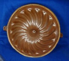 REDWARE Bundt Cake Pudding Baking Mold Bakewear with Handles Pennsylvania