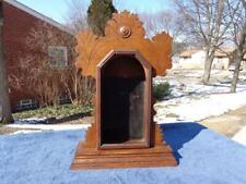 Ingraham Oak Eastlake Parlor Kitchen Shelf Mantle Clock Case Sessions Gilbert