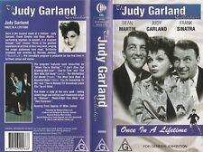 THE JUDY GARLAND COLLECTION DEAN MARTIN FRANK SINATRA AS NEW RARE  PAL VHS VIDEO