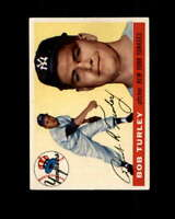Bob Turley Card 1955 Topps #38 New York Yankees
