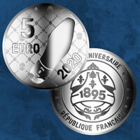 Frankreich - French Excellence - Berluti - 5 Euro 2020 Silber PP