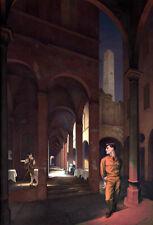 PAUL CADMUS - Night in Bologna (1958) (62x42cm), FINE CANVAS PRINT