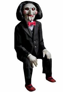 SAW Billy Puppet Trick or Treat Studios Jigsaw Horror Replica Doll 96cm
