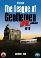 Nuovo The League Of Gentlemen - Live di Nuovo! DVD