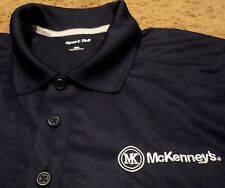 NEW Men's ~ McKenney's BDOC Builders Construction ~ Polo Golf Work Shirt 2XL XXL