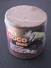 Kokos Disc Scheibe Terrarium Bodengrund Humusziegel