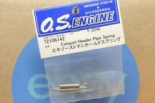 EXHAUST HEADER PIPE SPRING T-2040 # OS72106142 O.S. Engines Genuine Parts