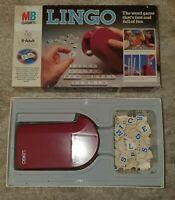 MB Games Lingo Fast Word Board Game